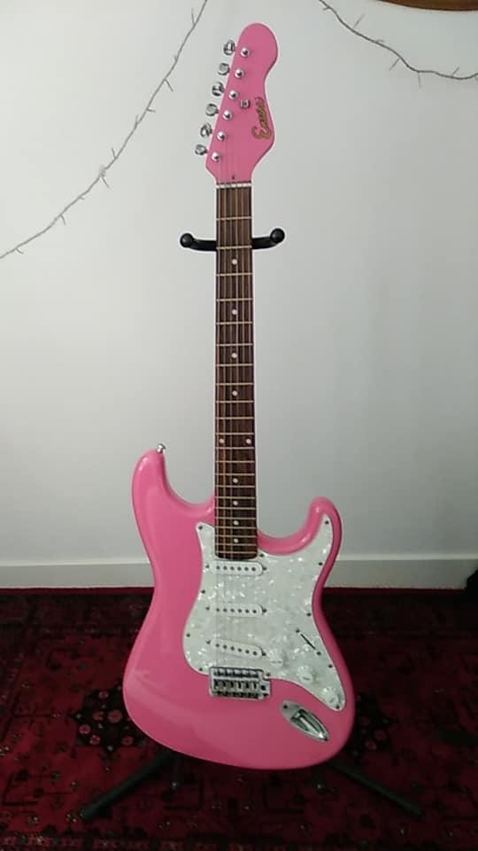 Pink Encore Strat
